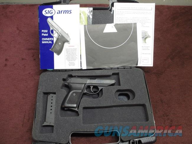 SIG SAUER P230 .32ACP - GERMAN - MINT IN BOX WITH EXTRA MAGAZINE,  PAPERS & TEST TARGET  Guns > Pistols > Sig - Sauer/Sigarms Pistols > P230