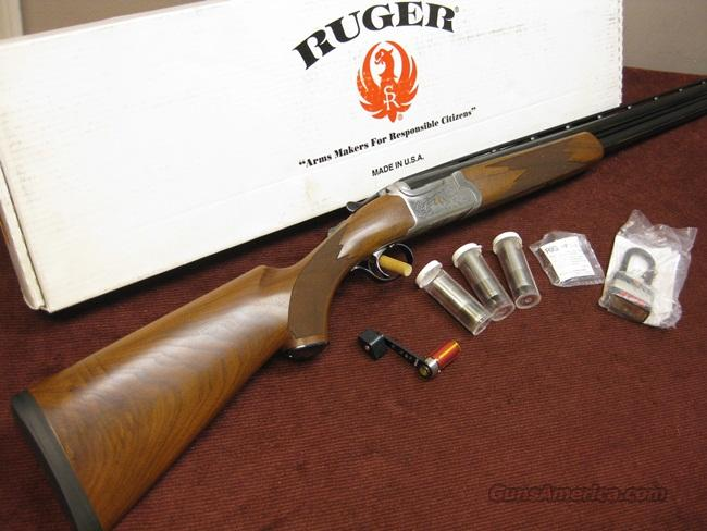 RUGER RED LABEL 12GA. - DUCKS UNLIMITED - 28-INCH - NEW IN BOX  Guns > Shotguns > Ruger Shotguns > Hunting