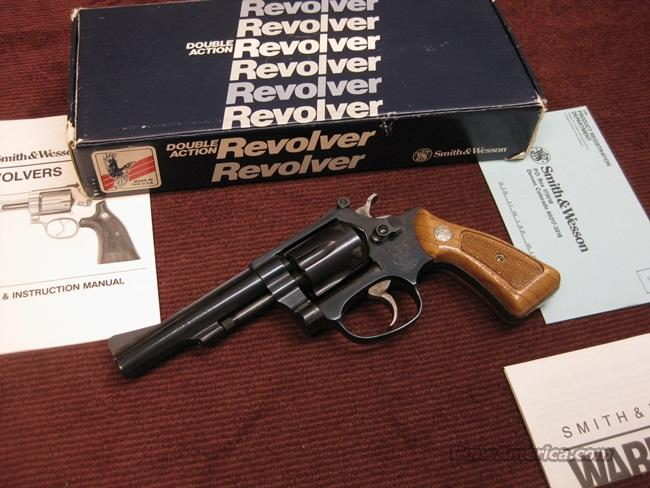 SMITH & WESSON 34-2 .22LR - 4-INCH - KIT GUN - MINT IN BOX  Guns > Pistols > Smith & Wesson Revolvers > Pocket Pistols