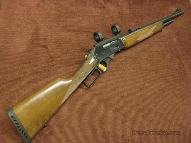 MARLIN 1895 M .450 MARLIN 18 1/2-INCH - PRETTY WOOD - MINT!  Guns > Rifles > Marlin Rifles > Modern > Lever Action