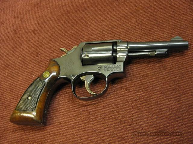 SMITH & WESSON MODEL 10-5 .38SPL 4-INCH BLUE - EXCELLENT!  Guns > Pistols > Smith & Wesson Revolvers > Model 10