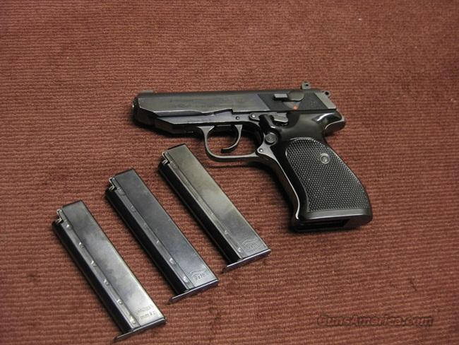 WALTHER PP SUPER 9X18 WITH THREE MAGS - EXCELLENT  Guns > Pistols > Walther Pistols > Post WWII > P99/PPQ