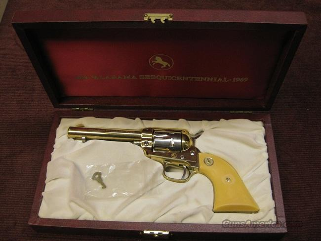 COLT SCOUT .22LR - 1969 ALABAMA SESQUICENTENNIAL - NEW IN BOX  Guns > Pistols > Colt Single Action Revolvers - Modern (22 Cal.)