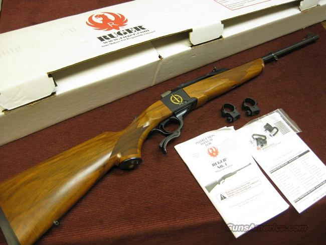 RUGER NO. 1 A LIGHT SPORTER - 30-06 CENTENNIAL - 1906 -2006 - ENGRAVED - PRETTY WOOD - AS NEW IN BOX  Guns > Rifles > Ruger Rifles > #1 Type
