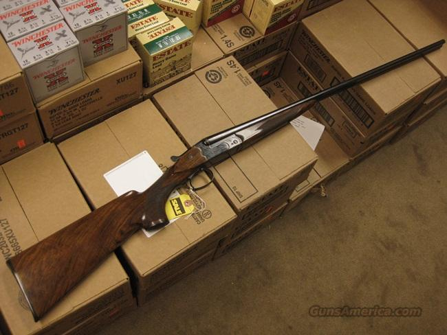 MERKEL 360 .410GA. SXS - UNFIRED WITH BOX  Guns > Shotguns > Merkel Shotguns