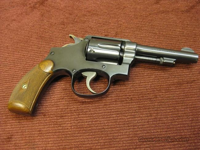 SMITH & WESSON PRE-WAR M&P .38SPL. - EXCELLENT !  Guns > Pistols > Smith & Wesson Revolvers > Full Frame Revolver