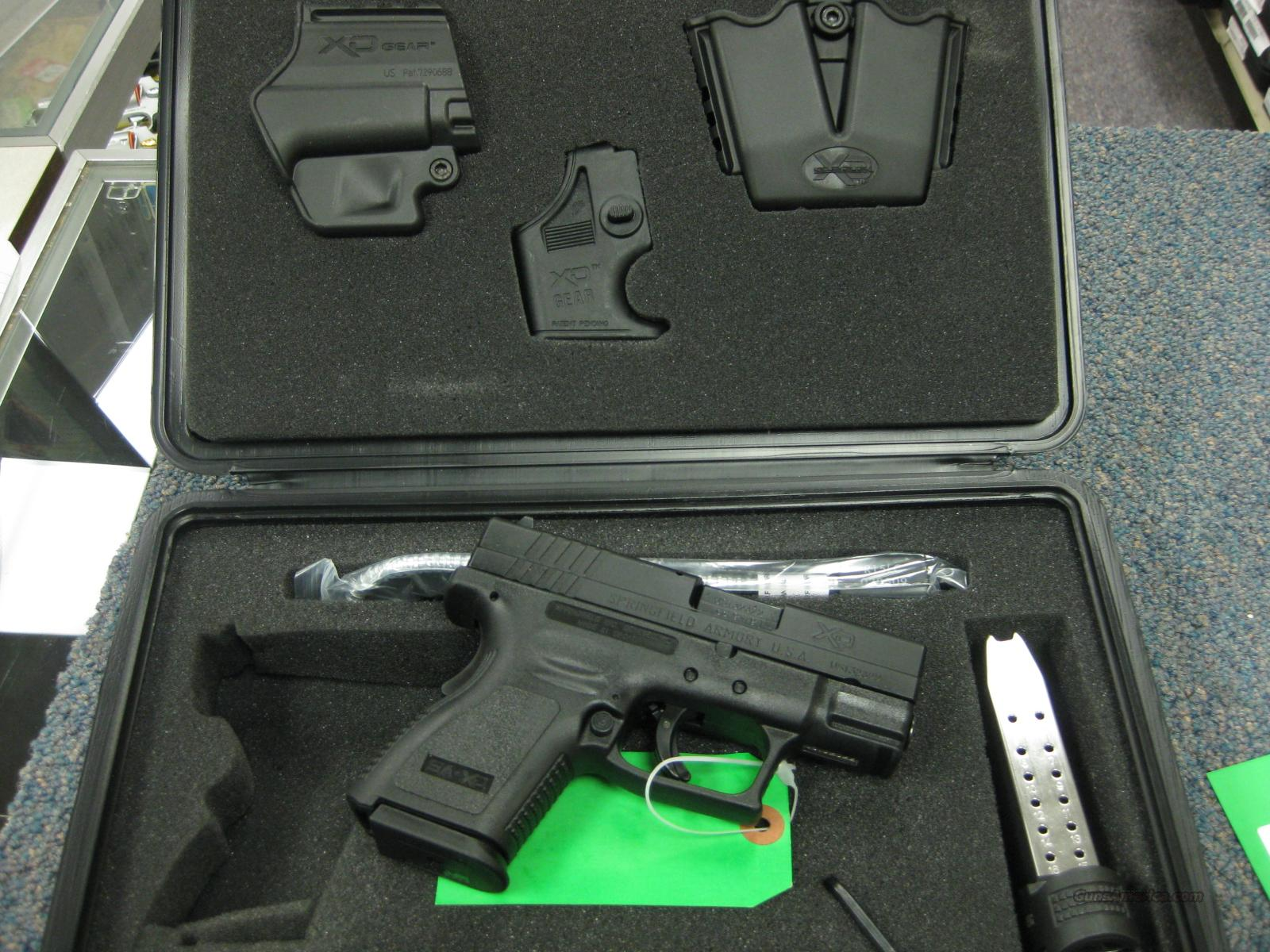 SPRINGFIELD XD SUB-COMPACT 9MM MINT W/BOX & ACCESSORIES  Guns > Pistols > Springfield Armory Pistols > XD (eXtreme Duty)