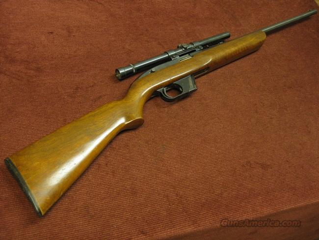 WINCHESTER 77 .22LR - CLIP FED - WITH WEAVER SCOPE & MOUNT - EXCELLENT!  Guns > Rifles > Winchester Rifles - Modern Bolt/Auto/Single > Autoloaders