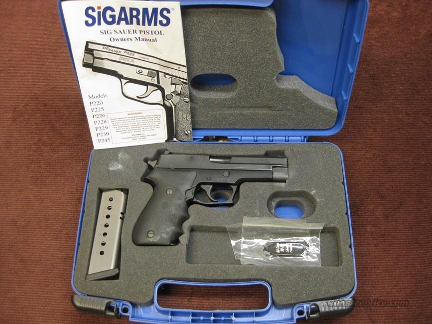 SIG SAUER P220 .45ACP - GERMAN - SIGLITE NIGHT SIGHTS - TWO MAGAZINES - WITH BOX  Guns > Pistols > Sig - Sauer/Sigarms Pistols > P220