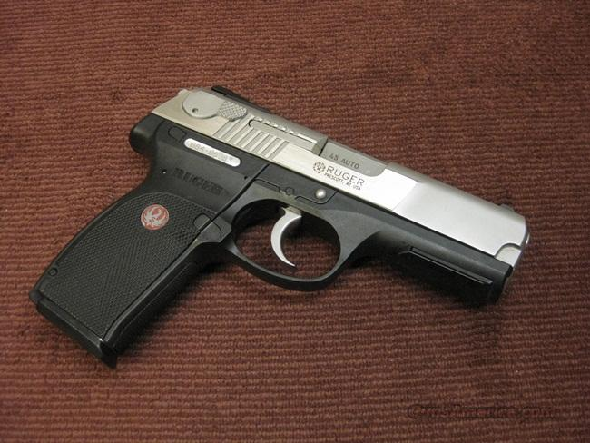 RUGER P345 .45ACP - MINT CONDITION !  Guns > Pistols > Ruger Semi-Auto Pistols > P-Series