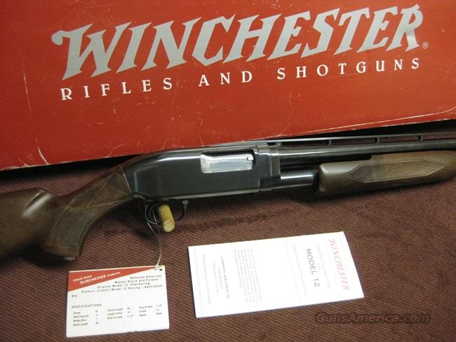 WINCHESTER MODEL 12 20GA. 26-IN. IMP.CYL. - VENT RIB - MIROKU - UNFIRED IN BOX  Guns > Shotguns > Winchester Shotguns - Modern > Pump Action > Hunting