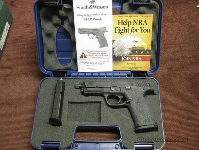 SMITH & WESSON M&P 9MM CUSTOM - THREADED BARREL - TRIGGER KIT - NIGHT SIGHTS -   Guns > Pistols > Smith & Wesson Pistols - Autos > Polymer Frame