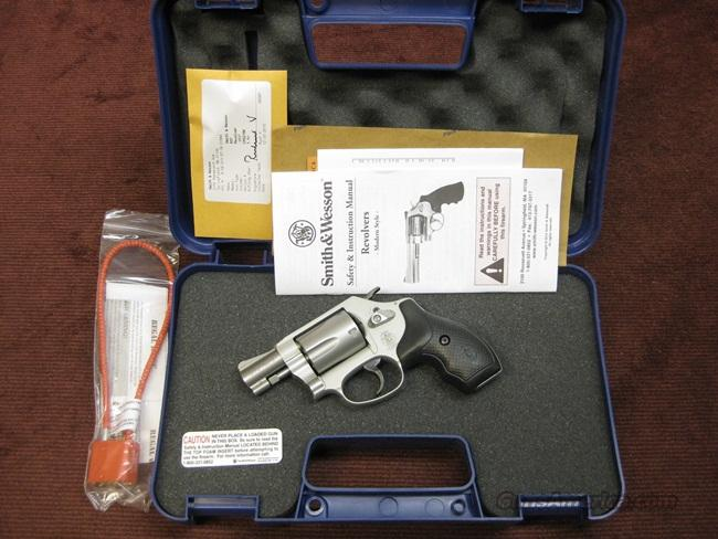 SMITH & WESSON 637-2 .38SPL +P - AS NEW IN BOX WITH PAPERS  Guns > Pistols > Smith & Wesson Revolvers > Pocket Pistols