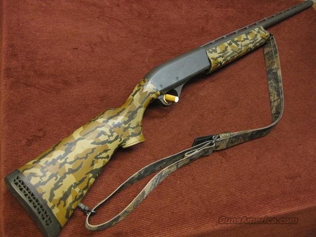 REMINGTON 11-87 LEFT HAND 12GA. CAMO SYNTHETIC - EXCELLENT !  Guns > Shotguns > Remington Shotguns  > Autoloaders > Hunting