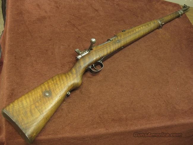 MAUSER MODEL 1908 BRAZILIAN - 7X57 - GERMAN DWM MAUSER 98 - PRETTY WOOD!  Guns > Rifles > Military Misc. Rifles Non-US > Other