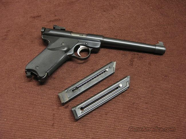 RUGER  MARK II TARGET .22LR - 6 7/8-INCH - EXCELLENT WITH TWO MAGS  Guns > Pistols > Ruger Semi-Auto Pistols > Mark I & II Family
