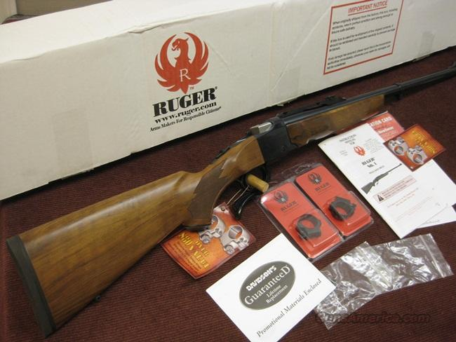 RUGER NO. 1 .405 WIN. - NEW IN BOX  Guns > Rifles > Ruger Rifles > #1 Type