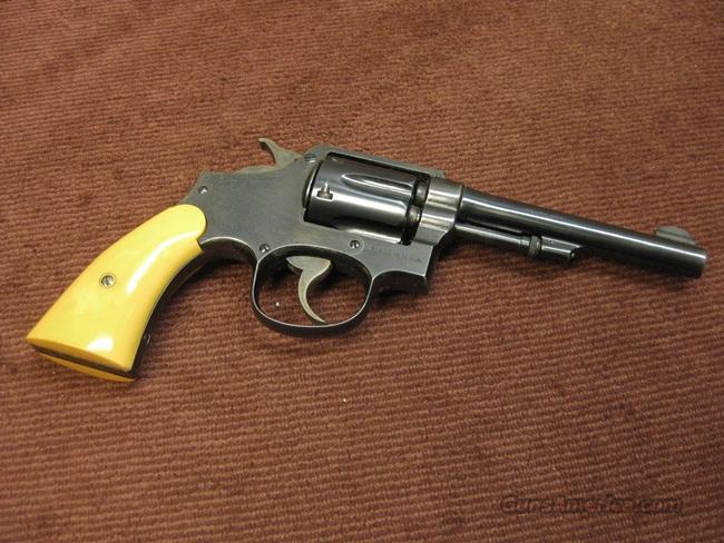 SMITH & WESSON 32-20 HAND EJECTOR - 5-INCH - EXCELLENT  Guns > Pistols > Smith & Wesson Revolvers > Pre-1945