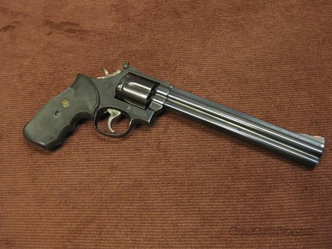 SMITH & WESSON 686-1 .357 MAGNUM - 8 3/8-INCH - EXCELLENT  Guns > Pistols > Smith & Wesson Revolvers > Full Frame Revolver