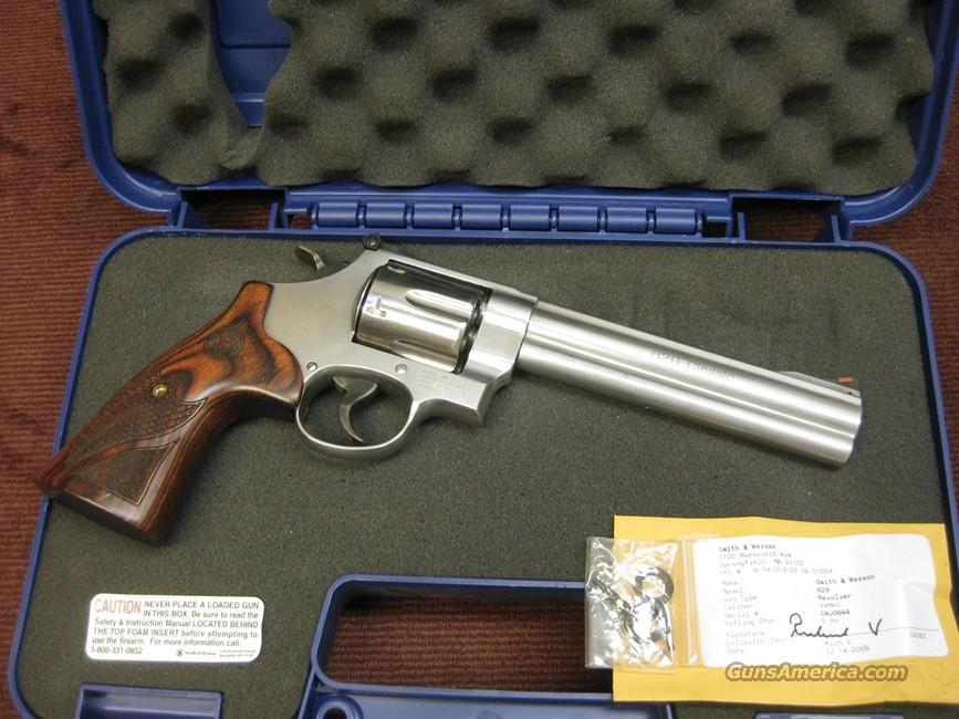SMITH & WESSON 629-6 - 6 1/2-INCH - 629 CLASSIC - AS NEW IN BOX  Guns > Pistols > Smith & Wesson Revolvers > Model 629