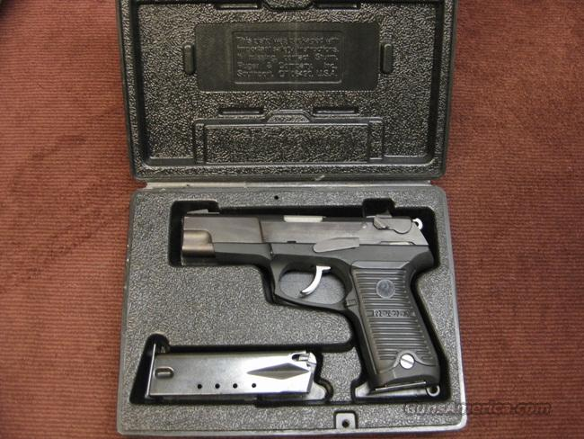 RUGER P89DC 9MM - TWO 15-ROUND MAGS - EXCELLENT IN BOX  Guns > Pistols > Ruger Semi-Auto Pistols > P-Series