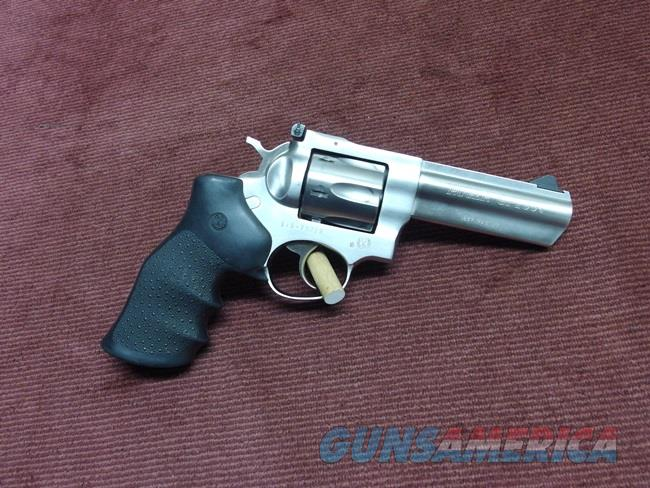 RUGER GP100 .357 MAGNUM - STAINLESS - 4-INCH - EXCELLENT  Guns > Pistols > Ruger Double Action Revolver > GP100
