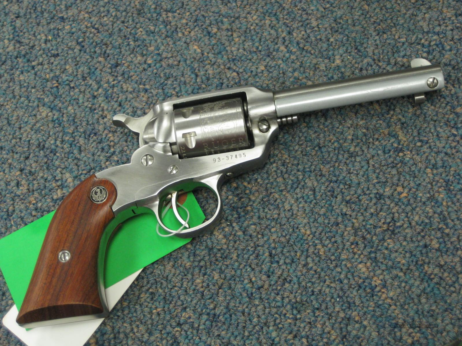 RUGER NEW BEARCAT .22LR - STAINLESS - NEAR NEW !  Guns > Pistols > Ruger Single Action Revolvers > Single Six Type