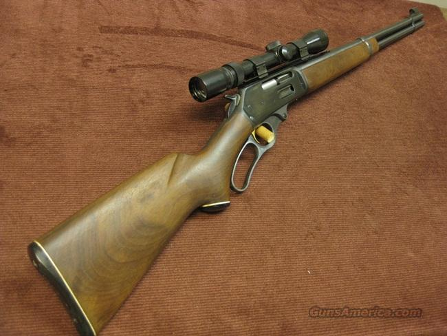 MARLIN 336 R.C. 35 REMINGTON  - MADE 1964 - WITH VINTAGE BUSHNELL BANNER SCOPE  Guns > Rifles > Marlin Rifles > Modern > Lever Action