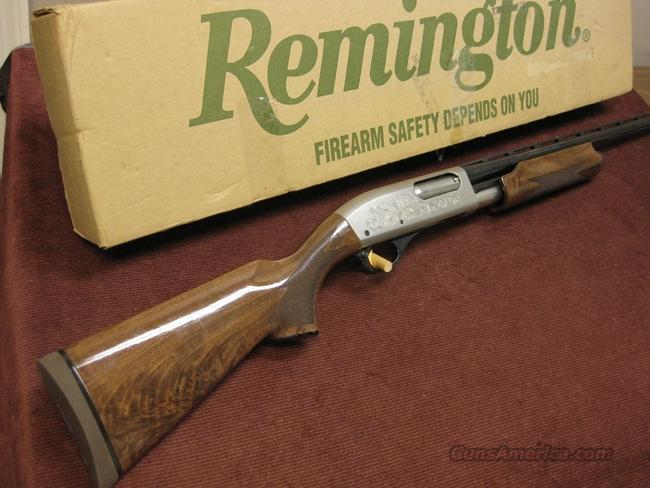 REMINGTON 870 12GA. 25TH ANNIVERSARY NATIONAL WILD TURKEY FEDERATION - XX FANCY - NIB  Guns > Shotguns > Remington Shotguns  > Pump > Hunting