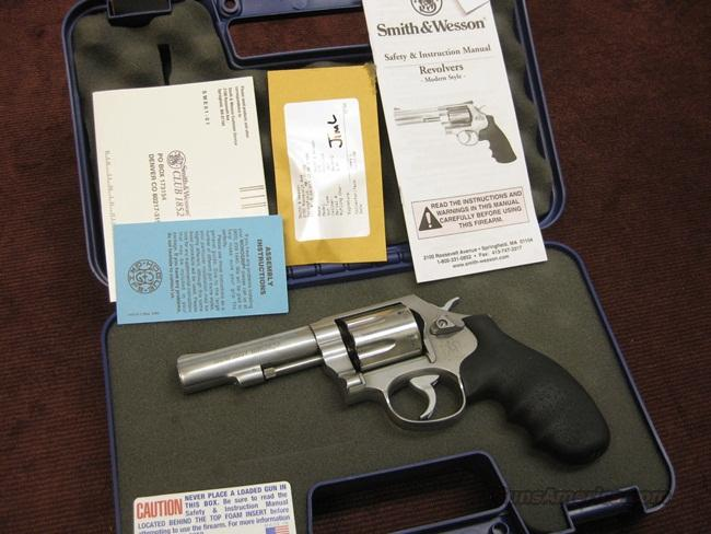 SMITH & WESSON 619 .357MAG. 7-SHOT - WITH BOX  Guns > Pistols > Smith & Wesson Revolvers > Full Frame Revolver