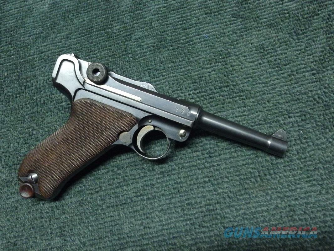 GERMAN DWM LUGER P08 - 9MM - MADE IN 1910  Guns > Pistols > Luger Pistols