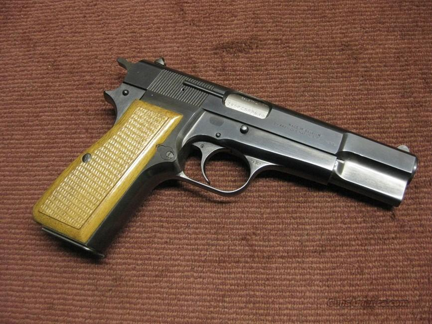 BROWNING BELGIAN HIGH POWER 9MM  - MADE IN 1981 - EXCELLENT - HI POWER  Guns > Pistols > Browning Pistols > Hi Power