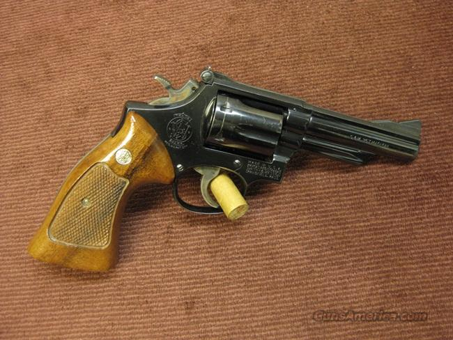 SMITH & WESSON 19-3 .357 MAG. -  4-INCH -  PINNED & RECESSED  Guns > Pistols > Smith & Wesson Revolvers > Full Frame Revolver