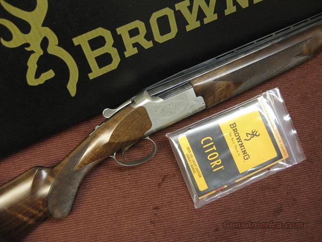 BROWNING CITORI 28GA. WHITE LIGHTNING - 28-IN. INVECTORS - PRETTY WOOD - NEAR MINT IN BOX  Guns > Shotguns > Browning Shotguns > Over Unders > Citori > Hunting