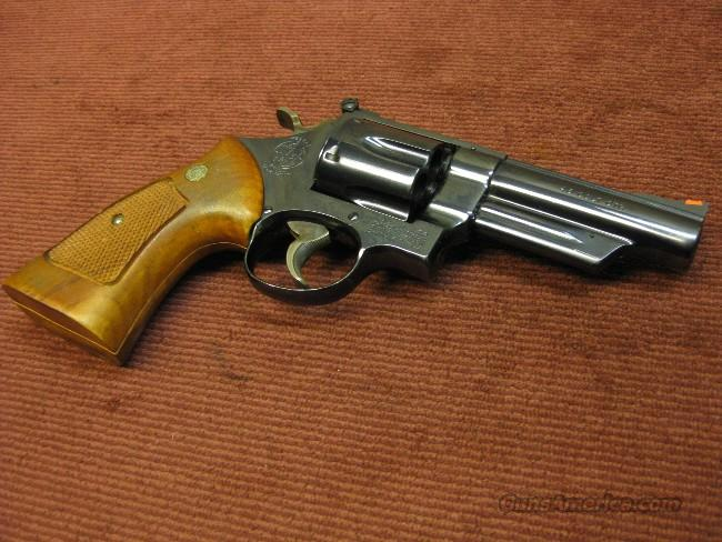 SMITH & WESSON 25-5 .45 COLT - 4-INCH - EXCELLENT !  Guns > Pistols > Smith & Wesson Revolvers > Full Frame Revolver