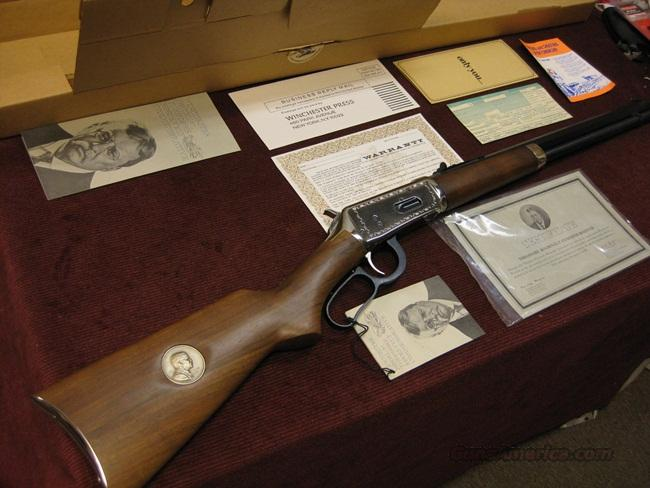 WINCHESTER 94 30-30 CARBINE - THEODORE ROOSEVELT COMMEMORATIVE - 1969 - NEW IN BOX WITH PAPERS  Guns > Rifles > Winchester Rifle Commemoratives