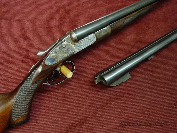 LEFEVER SIDELOCK 20GA. E-GRADE W/ TWO BARRELS  Guns > Shotguns > Lefever Shotguns