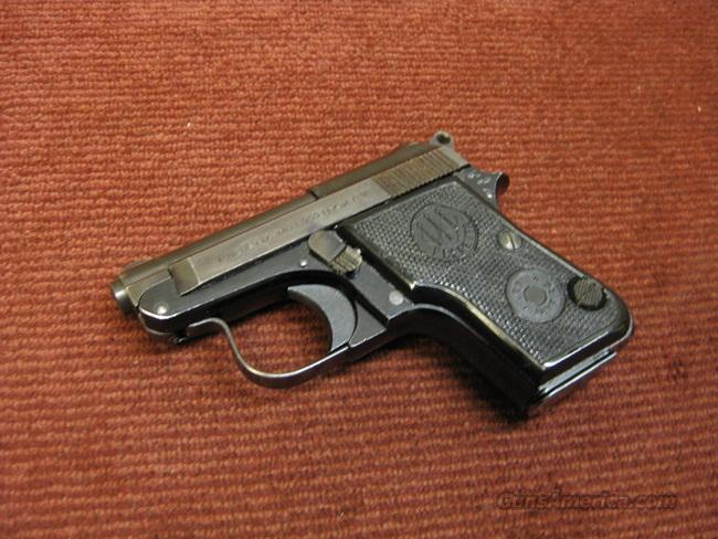 BERETTA 950 B .25ACP - PRE-SAFETY MODEL - MADE IN 1963 - EXCELLENT  Guns > Pistols > Beretta Pistols > Small Caliber Tip Out