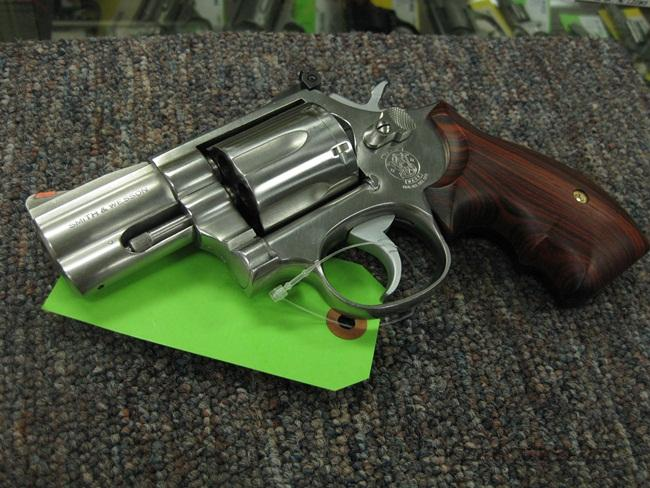 SMITH & WESSON 686 .357 MAG. 2 1/2-INCH - PRE-LOCK - ROUND BUTT - NEAR MINT!  Guns > Pistols > Smith & Wesson Revolvers > Full Frame Revolver