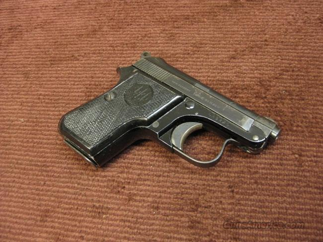 BERETTA 950 B .22SHORT - MADE IN ITALY - 1967 - PRE-SAFETY  Guns > Pistols > Beretta Pistols > Small Caliber Tip Out