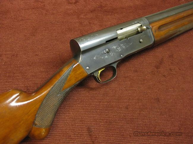 "BROWNING AUTO-5 LT-12GA. 30"" FULL - SOLID RIB - 1955  Guns > Shotguns > Browning Shotguns > Autoloaders > Hunting"