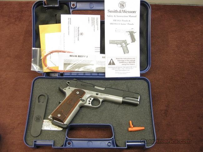 SMITH & WESSON SW1911 E-SERIES TALO EDITION .45ACP - AS NEW IN BOX  Guns > Pistols > Smith & Wesson Pistols - Autos > Steel Frame
