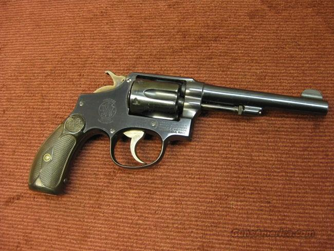 SMITH & WESSON 38 HAND EJECTOR M&P 1905 .38SPL.  5-INCH  Guns > Pistols > Smith & Wesson Revolvers > Pre-1945