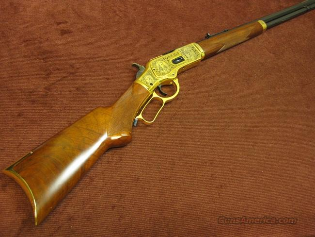 UBERTI 1873 44-40 WILD WEST EXHIBITION SHOOTERS TRIBUTE - NEW!  Guns > Rifles > Cowboy Action Rifles Misc.