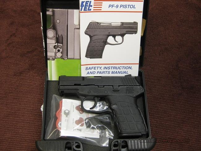KEL-TEC PF-9 SUB COMPACT 9MM - NEW IN BOX  Guns > Pistols > Kel-Tec Pistols > Pocket Pistol Type