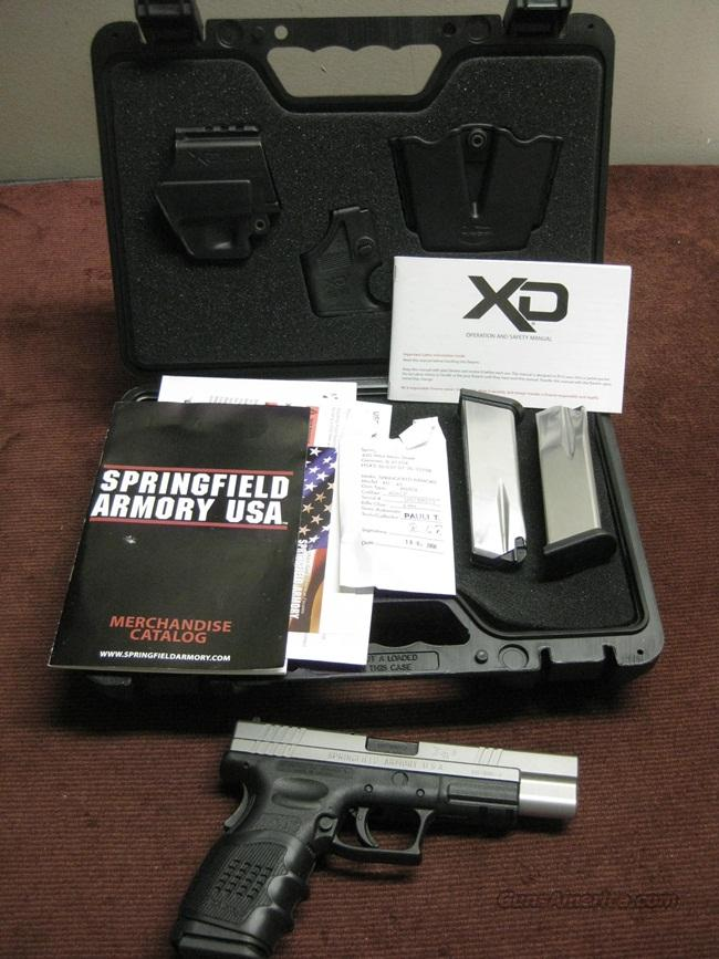 SPRINGFIELD XD TACTICAL .45ACP - BI-TONE - XD GEAR  - THREE MAGS - AS NEW IN BOX  Guns > Pistols > Springfield Armory Pistols > XD (eXtreme Duty)