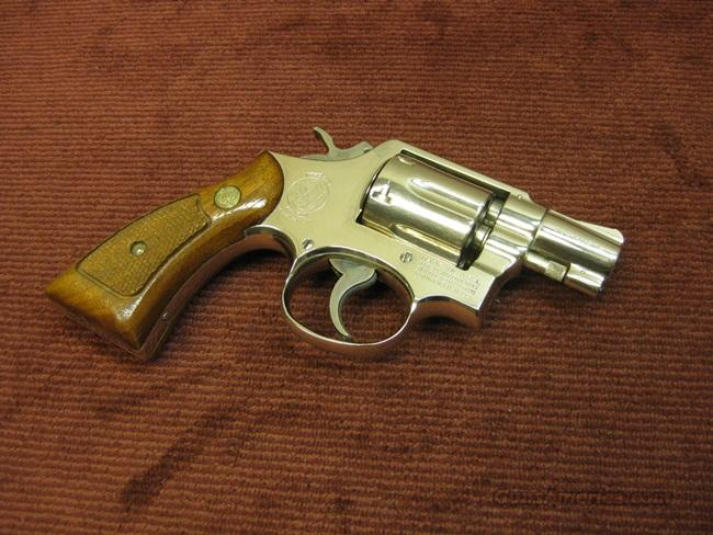 SMITH & WESSON 10-5 .38SPL. 2-INCH NICKEL - EXCELLENT  Guns > Pistols > Smith & Wesson Revolvers > Model 10