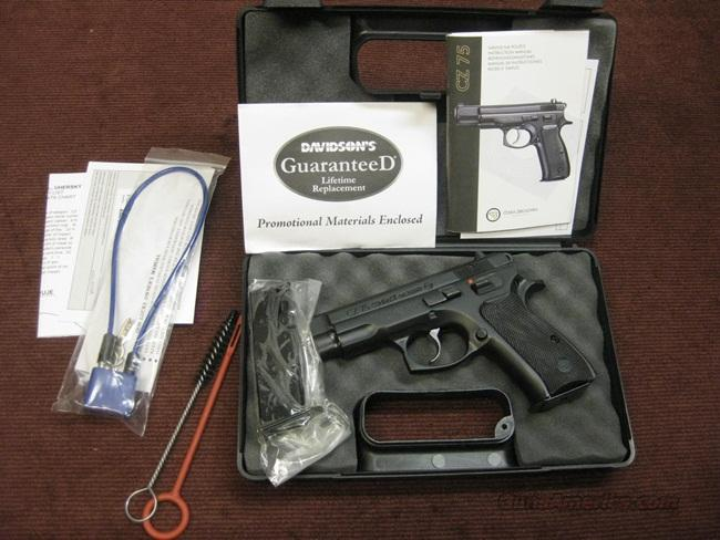 CZ 75 COMPACT 9MM - WITH 2 14-ROUND MAGS - NEW IN BOX  Guns > Pistols > CZ Pistols