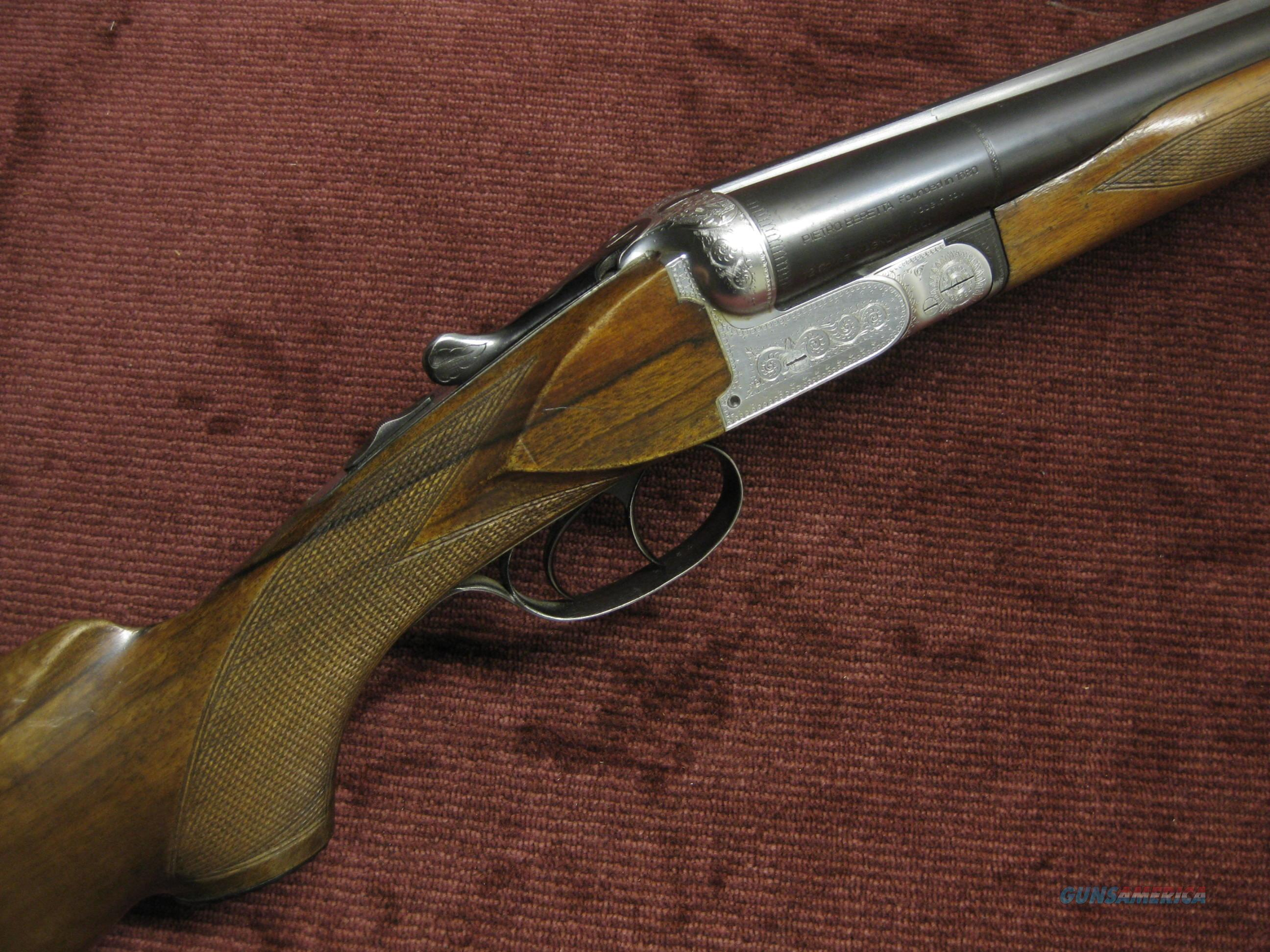 BERETTA  SILVER HAWK 12GA. MAGNUM - 32-INCH - DOUBLE TRIGGER - MADE IN 1958  Guns > Shotguns > Beretta Shotguns > SxS