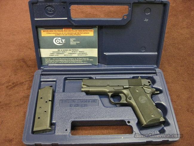 COLT 1991A1 .45ACP COMPACT - AS NEW IN BOX  Guns > Pistols > Colt Automatic Pistols (1911 & Var)